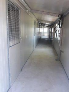 Corridoio interno per l' accesso ai Box